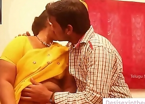 Indian Aunty Forced Sexual intercourse overwrought Young Little shaver