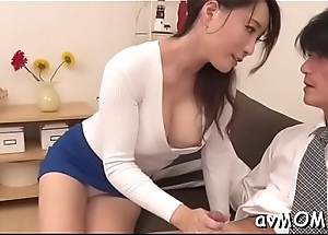 Sexy mother i'_d like to fuck receives on knees to over b draft liberal cock, cum shot