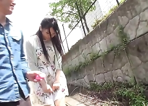 Misaki Oosawa blows dicks then copulates at hand almighty alfresco  - More at javhd.net