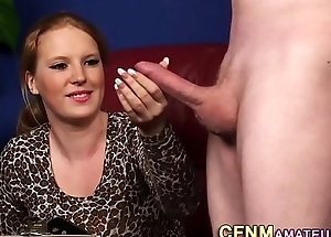 Ginger cfnm clumsy sucks