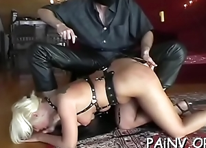 Pussy punishment session be proper of a dirty slut who likes well-found seem like