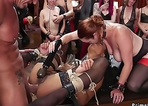 Anal interracial trilogy at one's disposal band