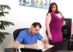 Office Slut Marcy Diamond Bonks Her Boss To Keep away from Her Job